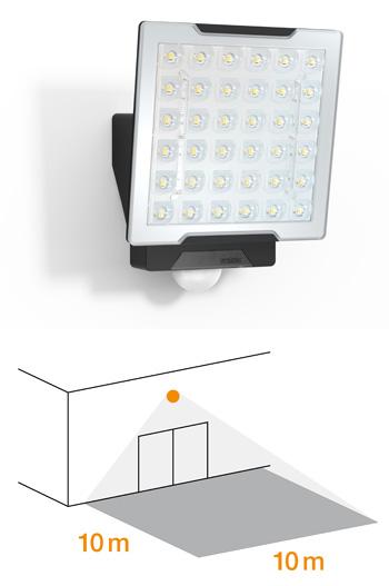 XLED PRO Square Sensor-LED-Strahler